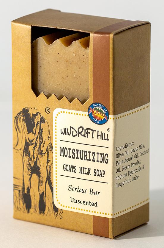 Serious Goat Milk Body Bar