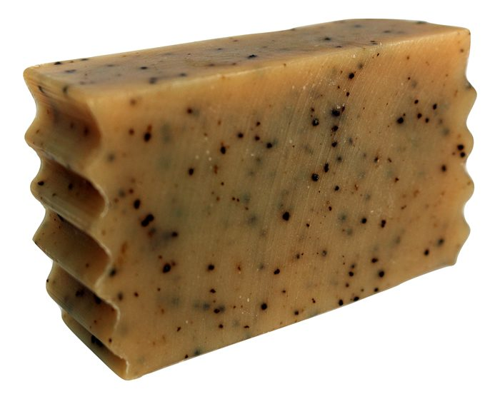 coffee and spice goat milk soap