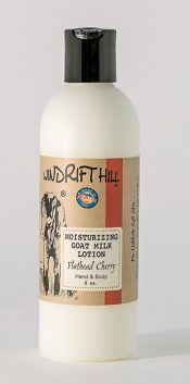 flathead cherry goat milk lotion