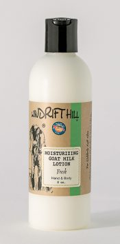 fresh goat milk lotion