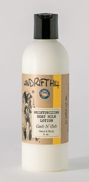 goats and oats goat milk lotion