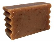 honey and rolled oats goat milk soap