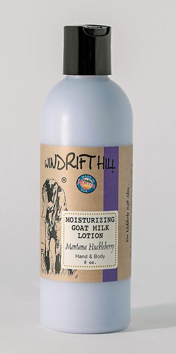 Montana Huckleberry Goat Milk Lotion