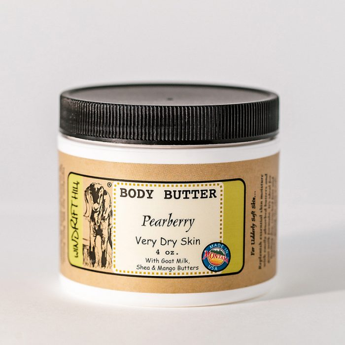 Pearberry goat milk body butter