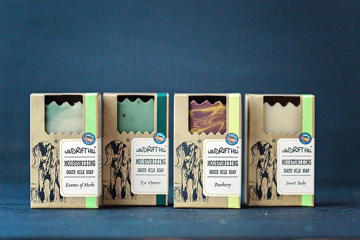 windrift hill goat milk soaps