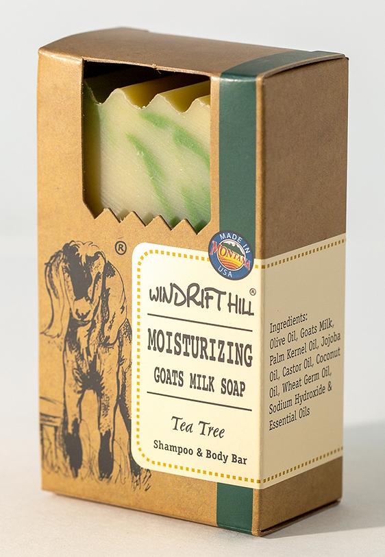 Tea Tree Goat Milk Soap