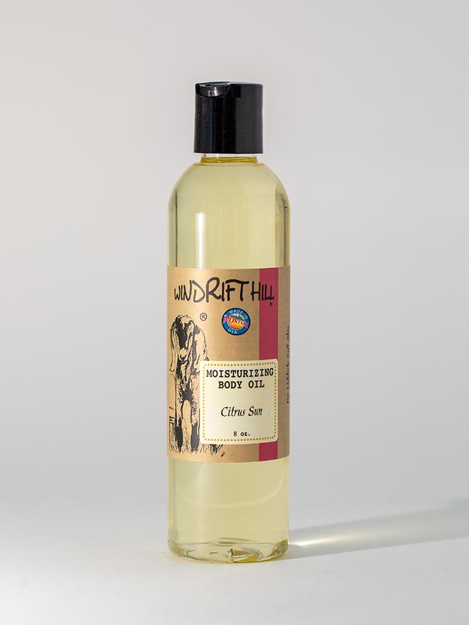 citrus sun body oil
