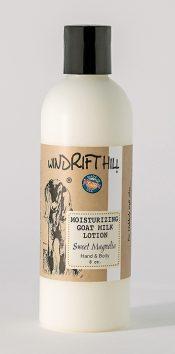 sweet magnolia goat milk lotion