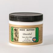unscented goat milk body butter