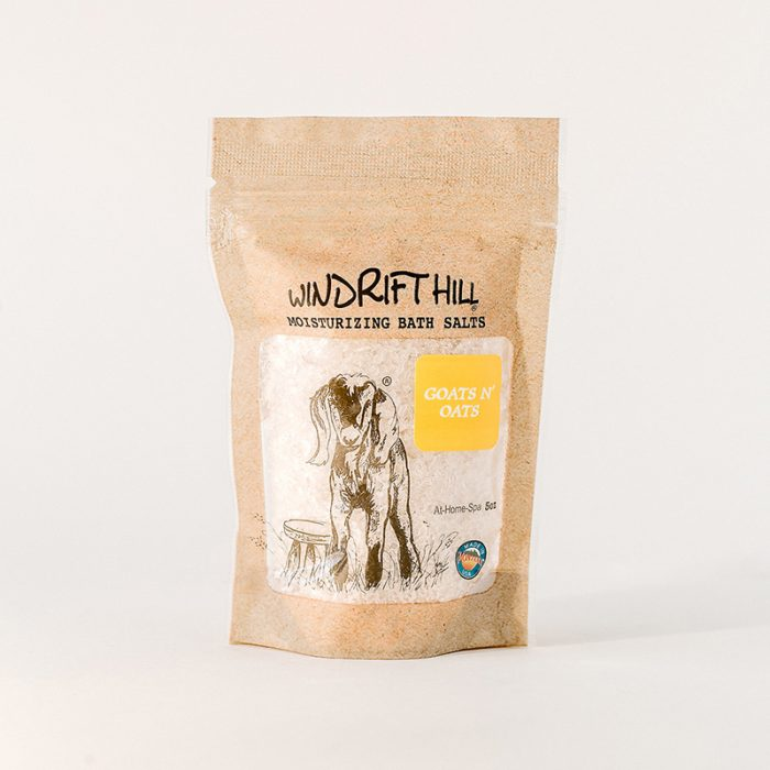 goats and oats bath salts