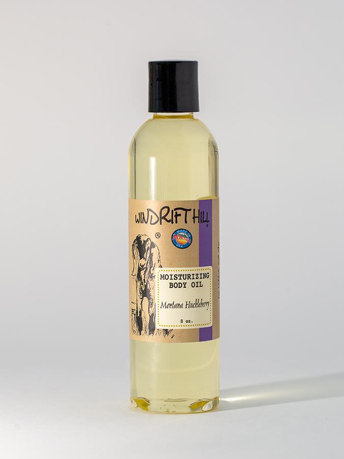 montana huckleberry body oil