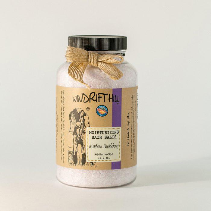 montana huckleberry bath salts
