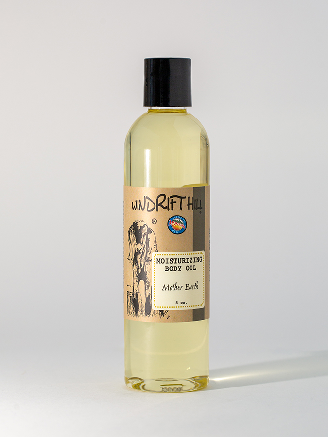 mother earth body oil