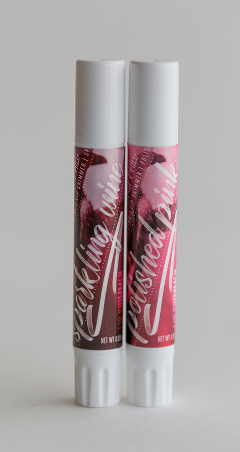 lip shimmers