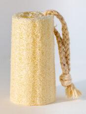 loofah sponge on rope