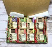 soap lovers dream gift set of eight goat milk soaps and soap dish